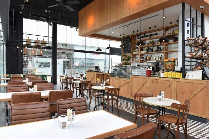 biga bakery & caféeti dentes interior design, kfar saba
