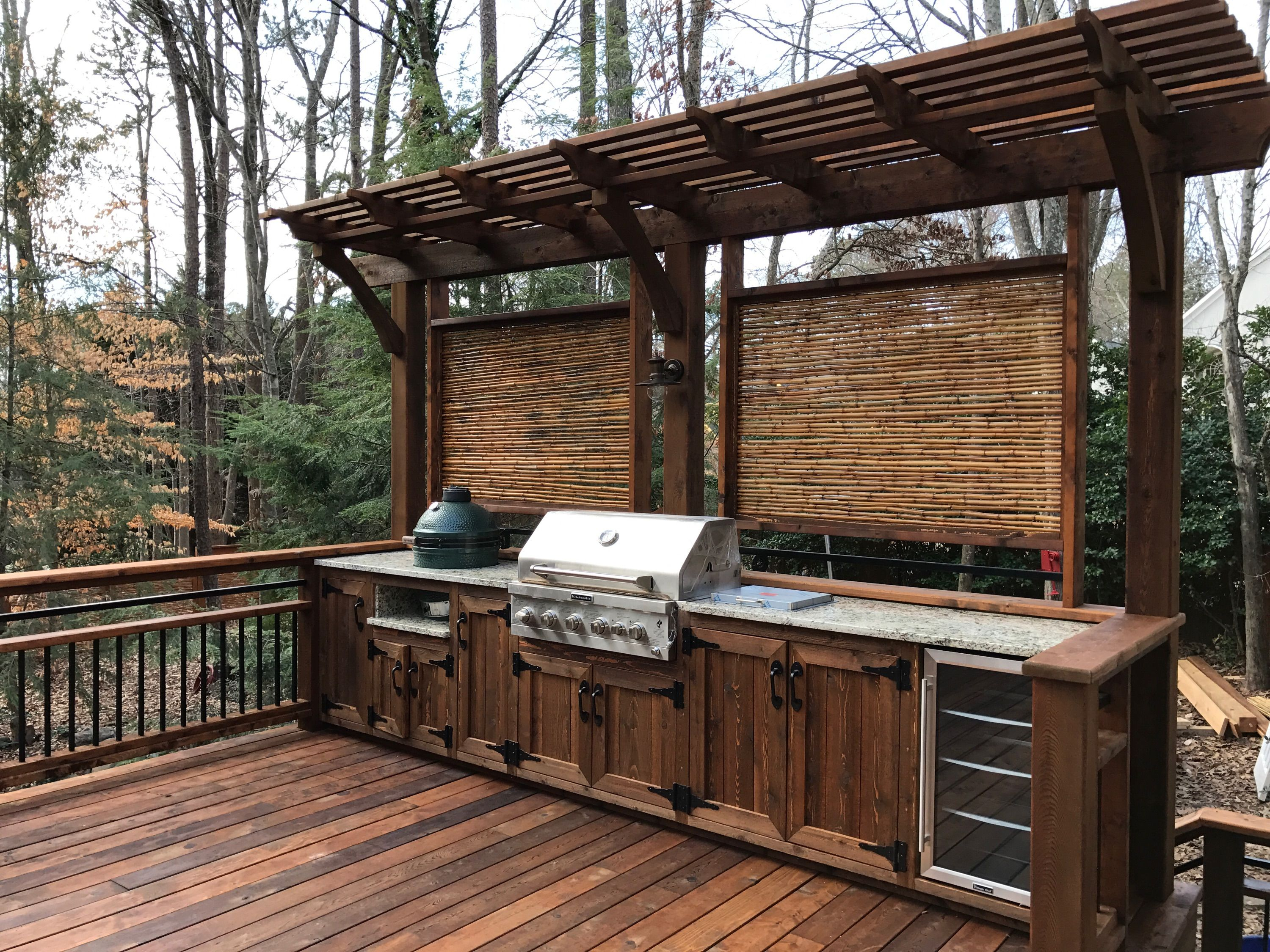 Dreamy Outdoor East Cobb Kitchen | Kitchens and Curb appeal