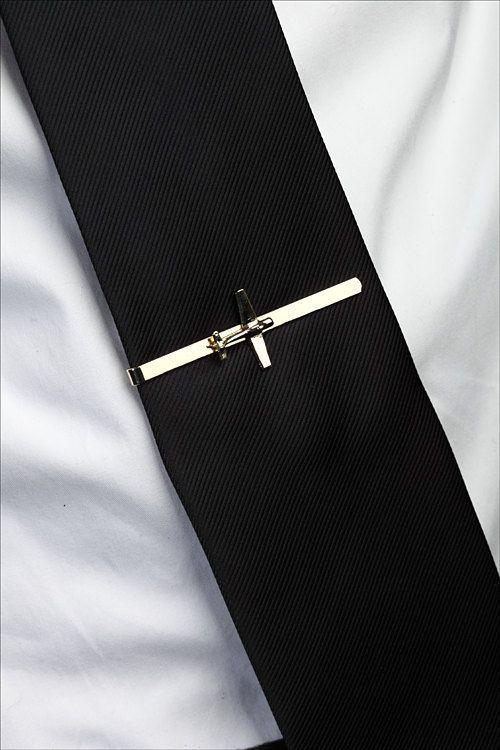 Men gift, pilot gift, airplane jewelry, Men, airplane tie clip, tie bar, tie tac,christmas gifts, av