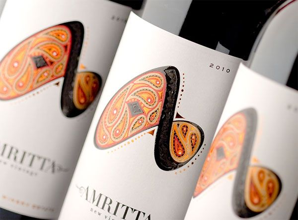 A beautiful illustration for a wine bottle graphic.