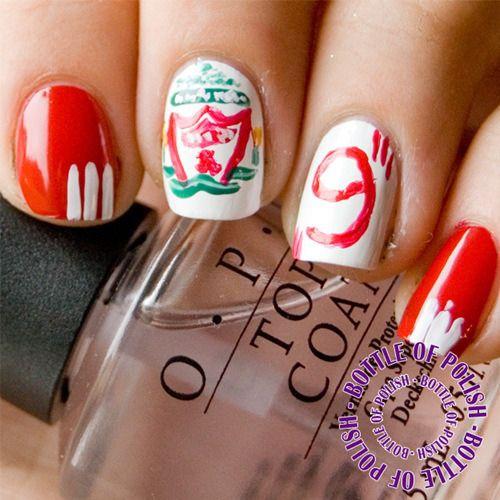 Lfc nail art girly pinterest lfc nail art prinsesfo Image collections