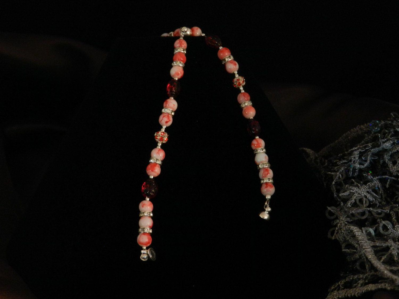 "FT432 Sissy and Me-LadyBug Bracelet Set, (1) Size 4.5"" and (1) Size 5.5"" by KarinsForgottenTreas on Etsy"