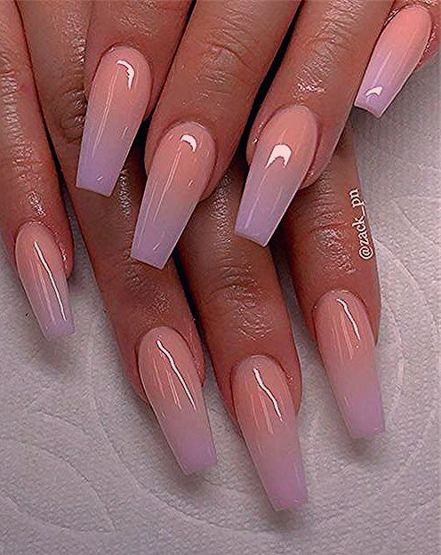 Photo of Chic ombre coffin nails designs in summer – #Chic #thumbs #nagel #ombre # coffin #summer – New Site