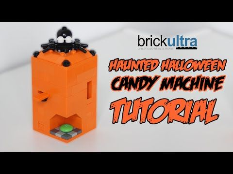 Haunted Halloween LEGO Candy Machine Tutorial & Instructions ...