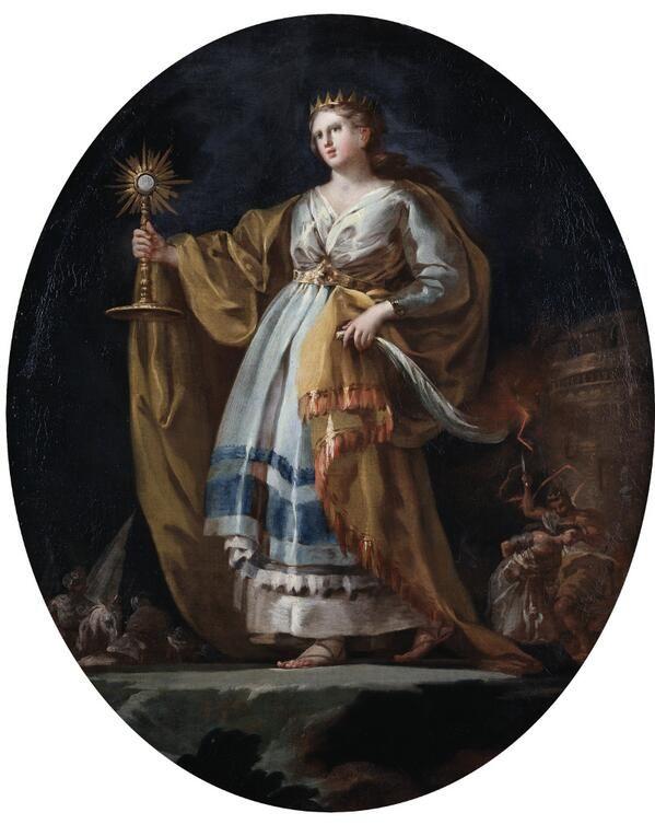 Museo Del Prado On Twitter Francisco Goya Saint Barbara Painting