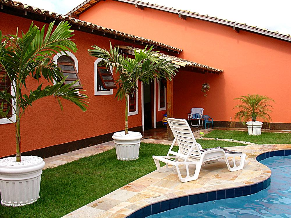 Frentes de casas con revestimiento texturado