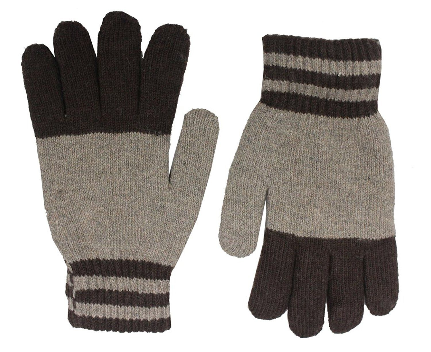 Romano Women S Premium Brown Warm Winter 100 Wool Gloves More Info Could Be Found At The Image Url Wool Gloves Cold Weather Gloves Warm Winter