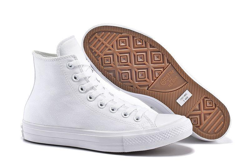 b2065cf3b85  converse Converse White High Tops Chuck Taylor All Star II Womens Shoes