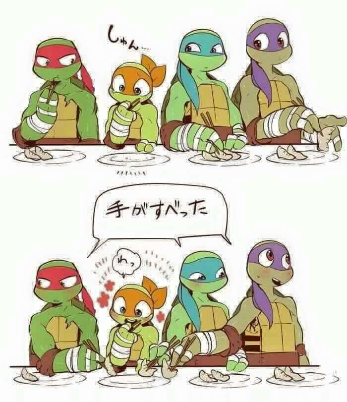 Pin by Amy Ling Chien Ling on TMNT ❤ | Ninja turtles, Tmnt