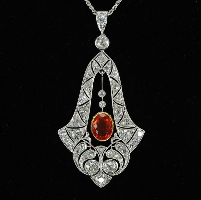 Unique silver roseantique cut diamond victorian inspire 152ct silver roseantique cut diamond victorian inspire 152ct pendant ebay aloadofball Images