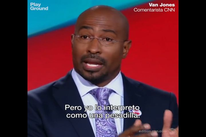 (SUBTITULADO) Comentarista de CNN Van Jones: ¿Cómo puedo explicarle esto a mis hijos?