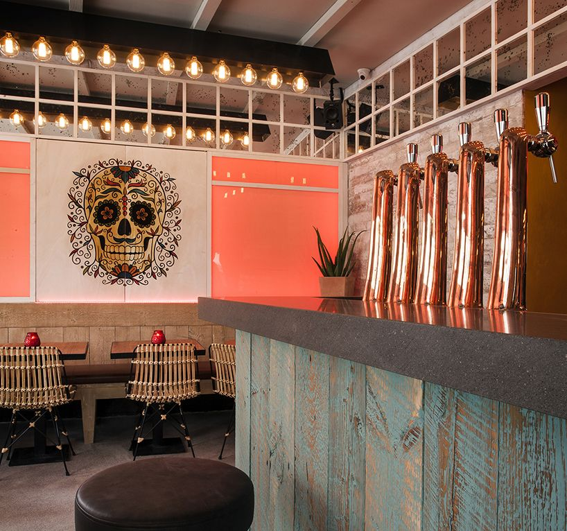 Semicircular Ktv Room Interior Design: Michael Malapert Brings A Bit Of Mexico To Mère Pouchet