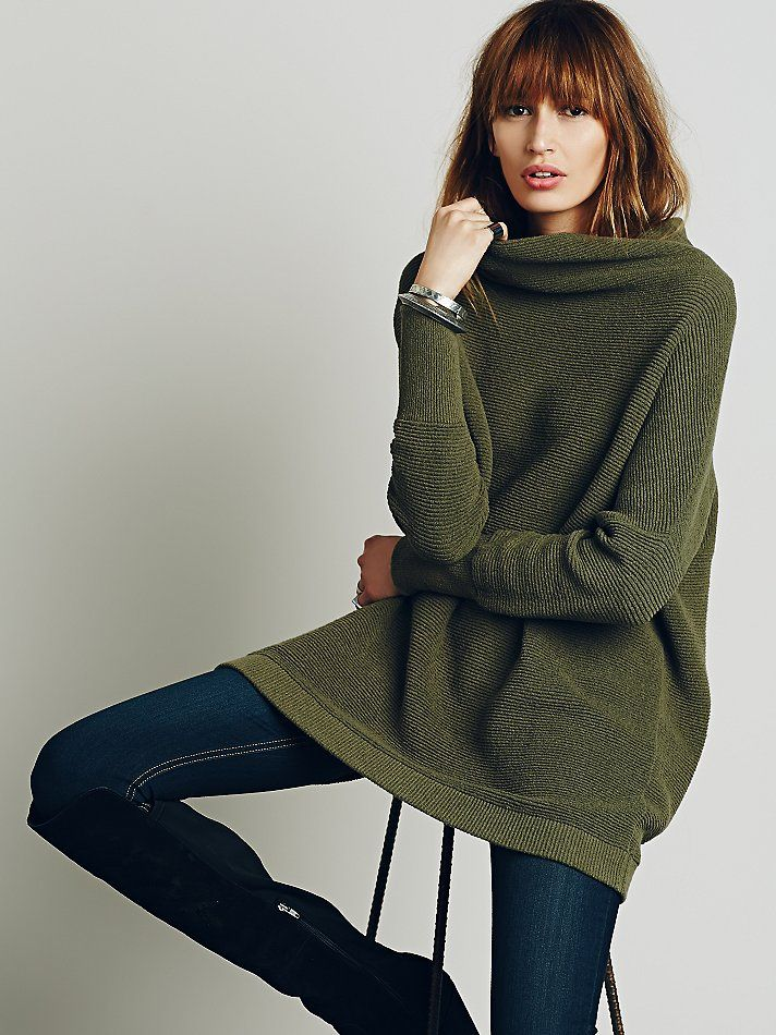 Free People Ottoman Slouchy Tunic at Free People Clothing Boutique ...