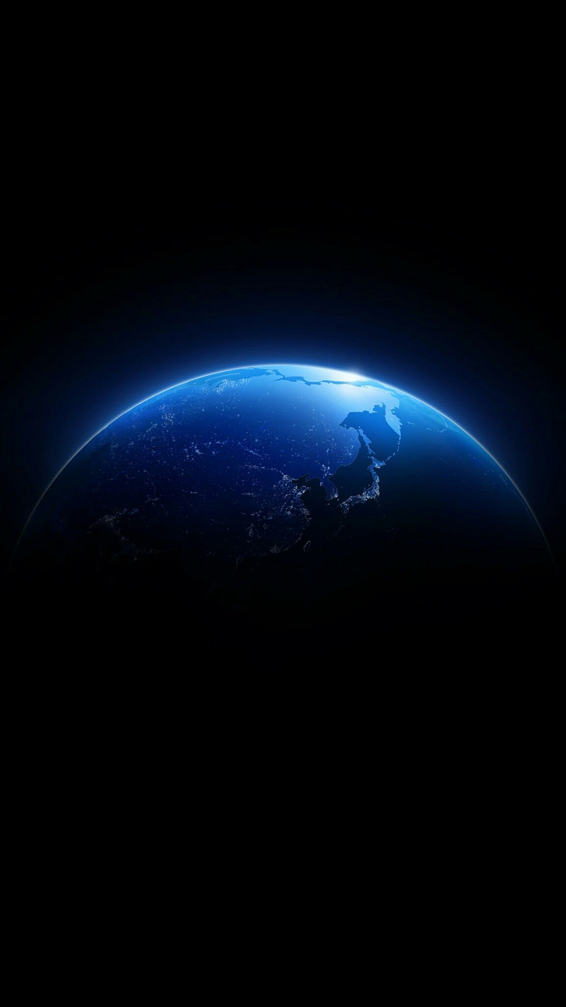 Blue Globe In Space Wallpaper Wallpaper Earth Wallpaper Space