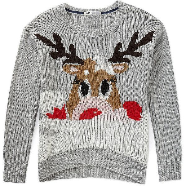 12 Ugly Christmas Sweaters That Are Actually Cute ❤ liked on Polyvore featuring christmas and sweaters