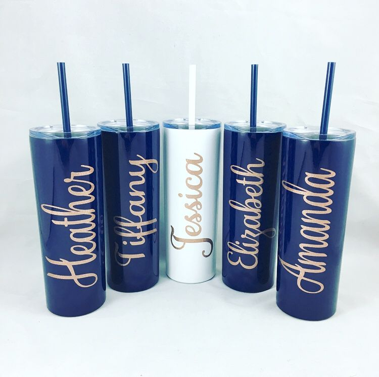 Personalized Bridesmaid Gift Personalized Insulated Stainless-Steel 500ML Water Bottle