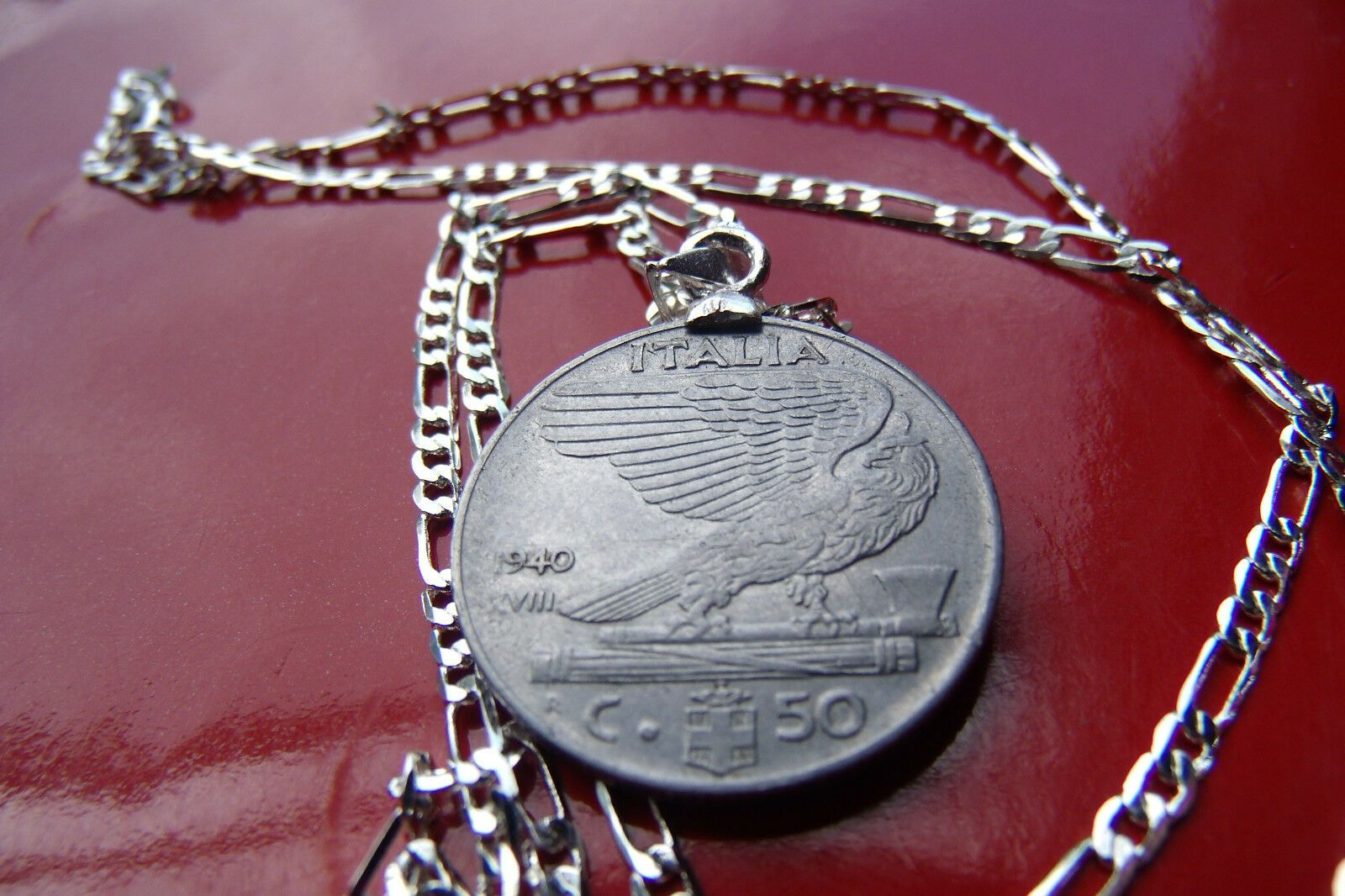 Pin On Coin Jewelry