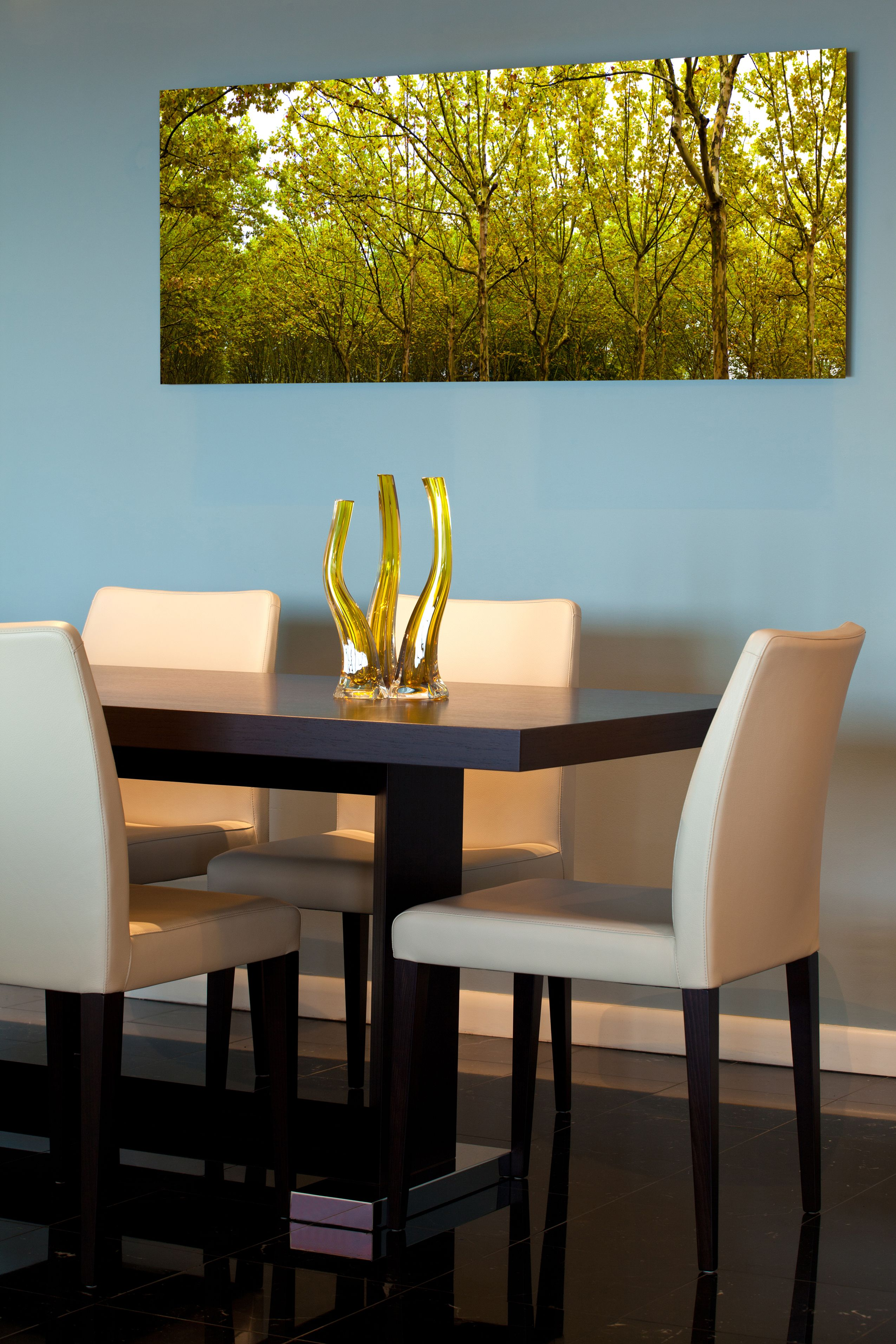 Amazing dining room wall art! Colors on this metal print are vibrant ...