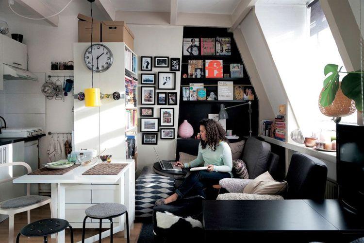 Een Kleine Studio Inrichten Wordt Makkelijk Met Deze 8 Tips.