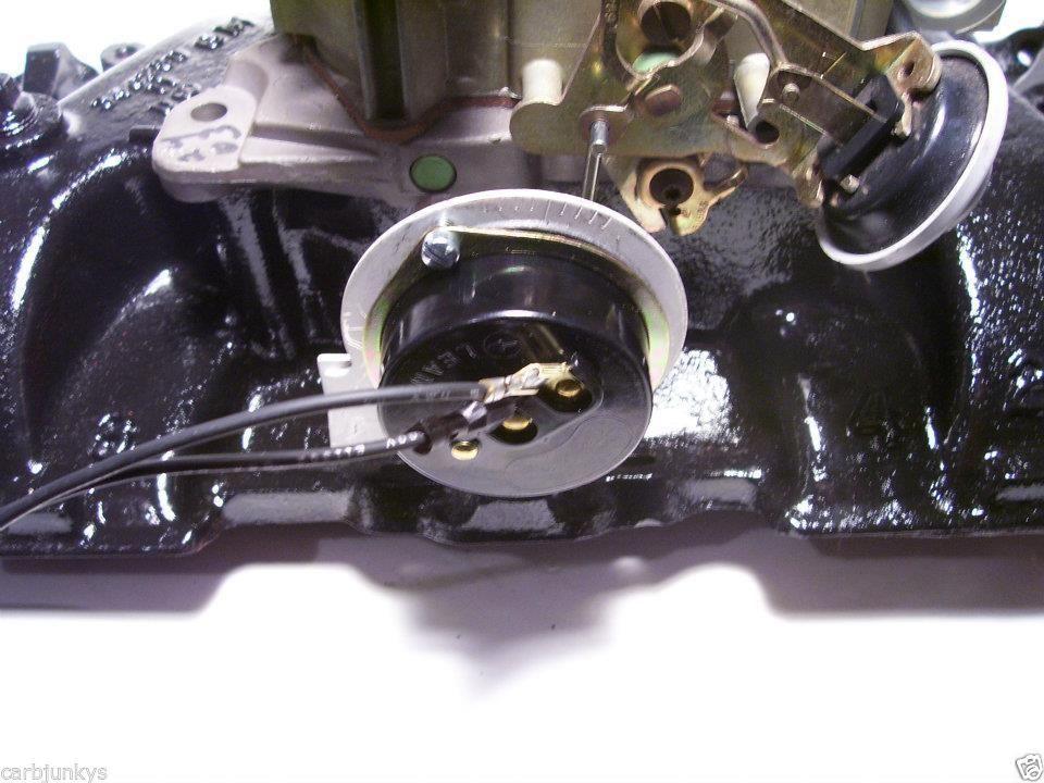 Super Choke 350 Chevy Small Block Quadrajet Carburetor Electric