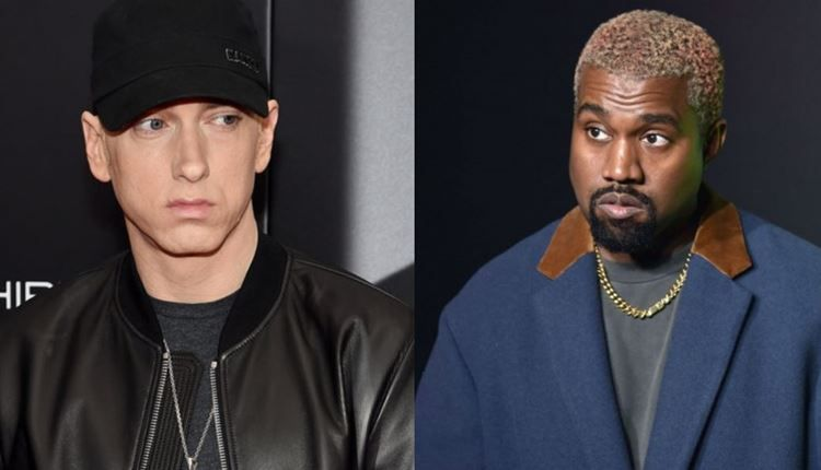 Kanye West Ties Eminem As Jesus Is King Album Tops Billboard 200 Eminem Kanye West Hip Hop Albums
