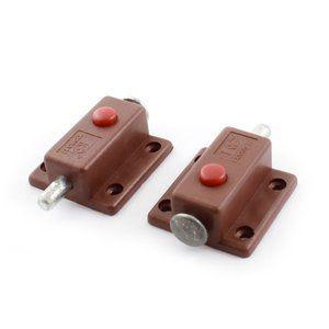 uxcell Push latch Door screw mount Plastic automatic lock bo …