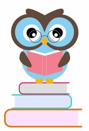 coruja e livro bufnite pinterest owl border design and craft rh pinterest com Cartoon Book Clip Art Cartoon Book Clip Art