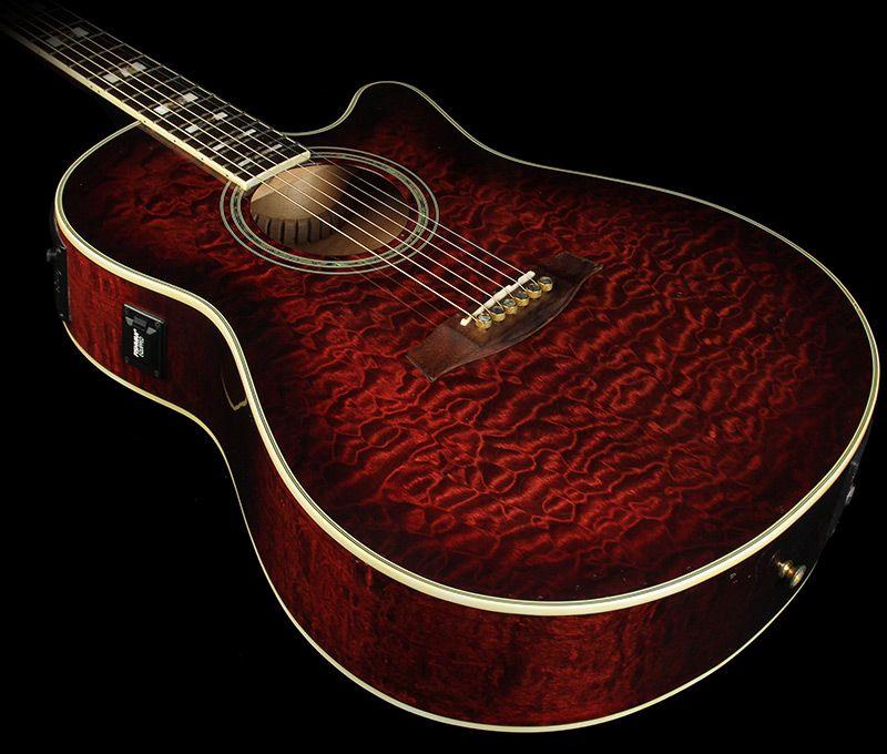 Ibanez Aef37tcsop 01 Acoustic Electric Guitar Burgundy Used Guitar Acoustic Electric Acoustic Electric Guitar