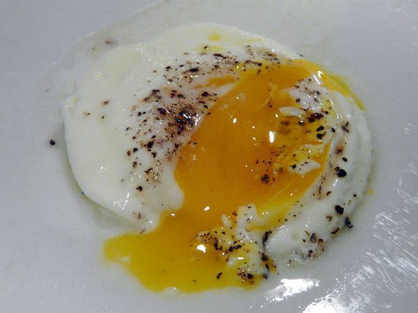 making soft cooked eggs in the