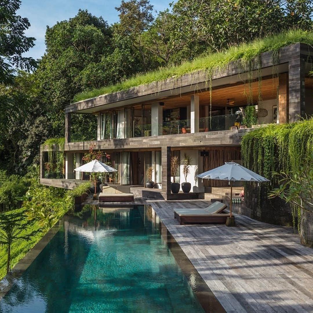 Airbnb Architecture On Instagram Villa Chameleon Kediri Bali Indonesia Villa Chameleon Located In The Lus Bali House Beach House Design Eco House Design