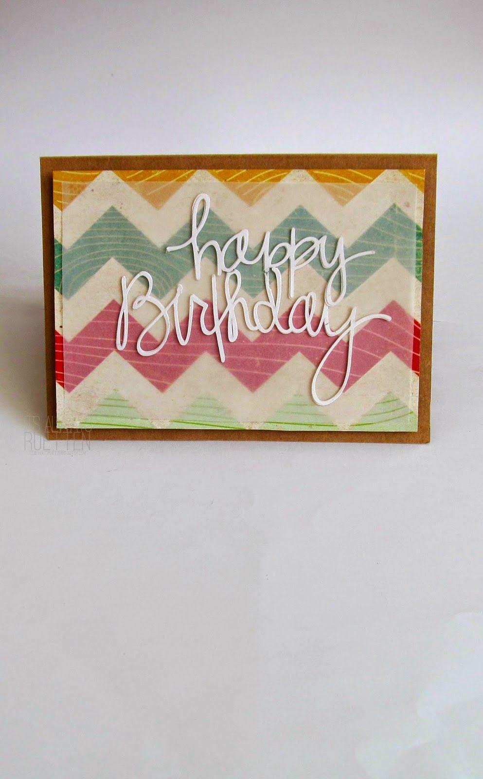 It's Always Ruetten: Happy Birthday, Yet Again!