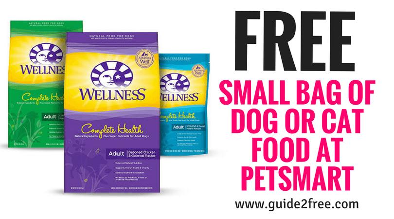 Free Small Bag Of Dog Or Cat Food At Petsmart Petsmart Natural
