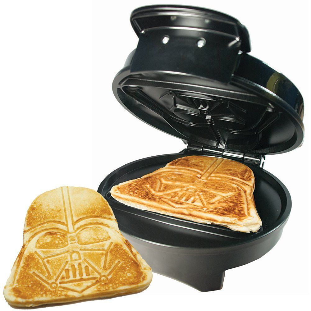 10 Fun Star Wars Kitchen Appliances Darth Vader Waffle Maker