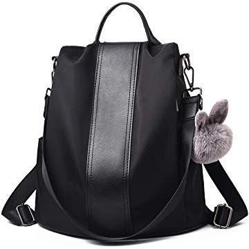 ceb0a39aea48b Barwell Women Backpack Ladies Rucksack Waterproof Nylon School bags Anti- theft Dayback Shoulder Bags
