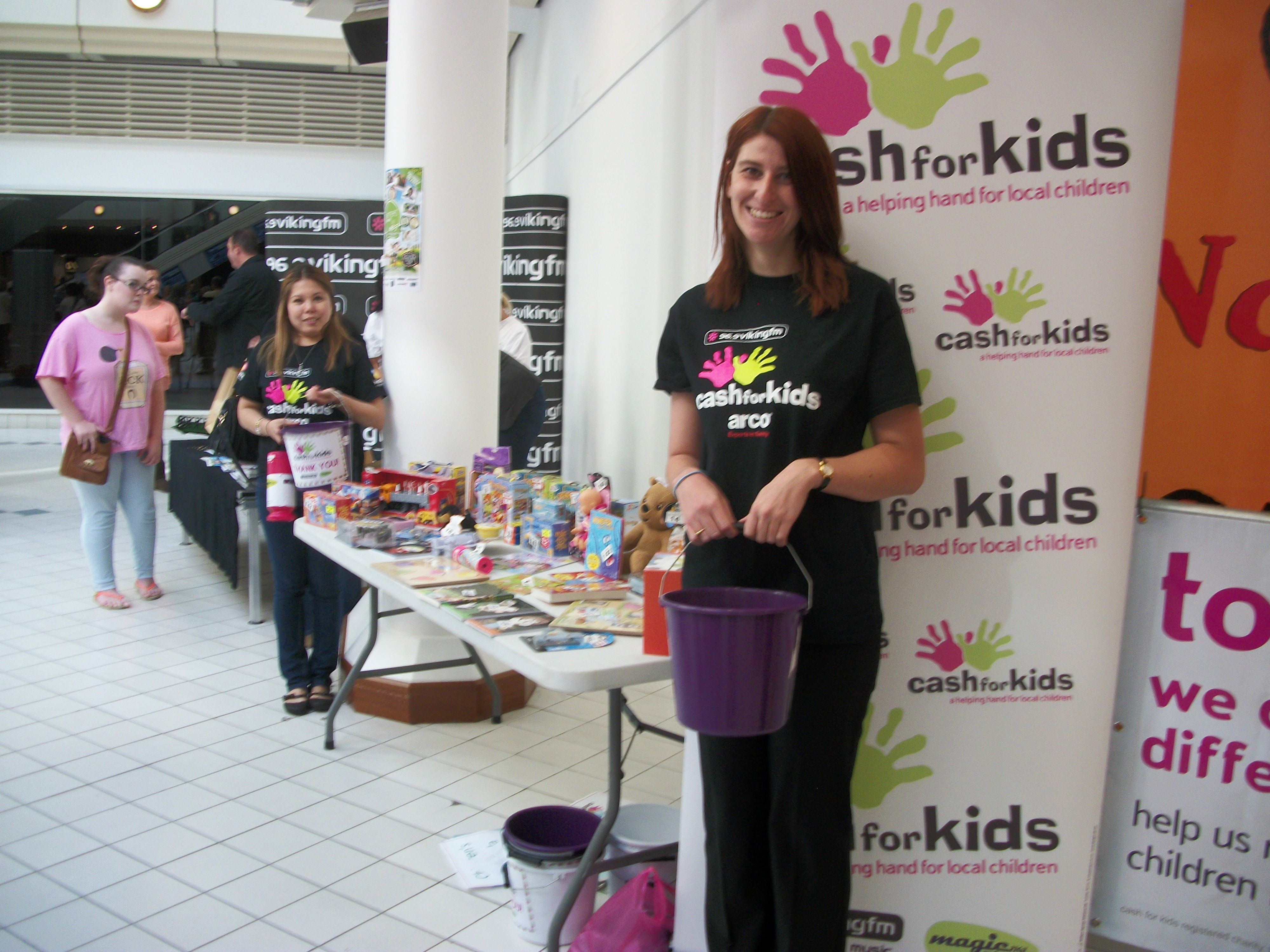 Cash for Kids at the Grand Final