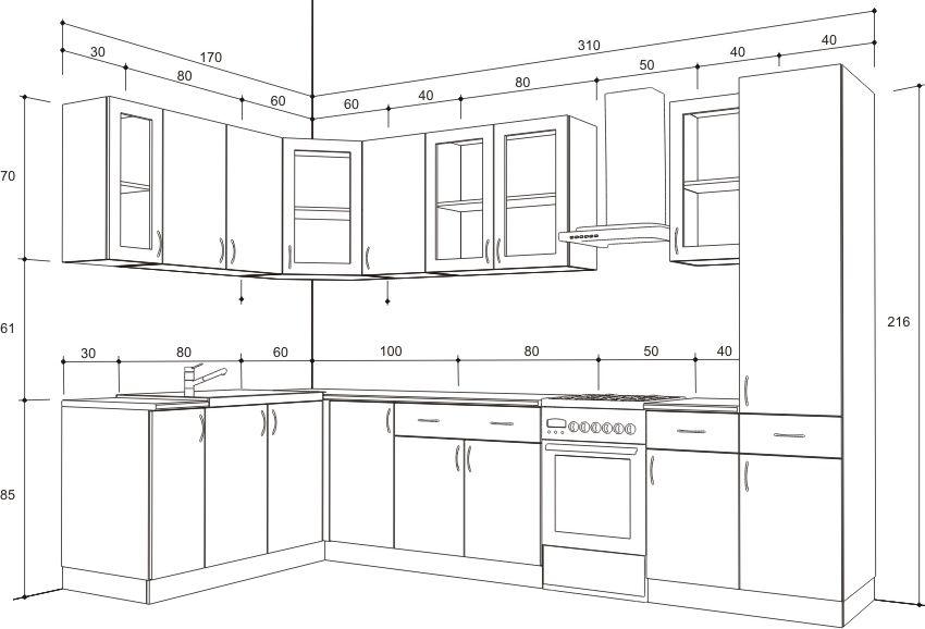 Los muebles de cocina pinterest - Planos de muebles de cocina ...