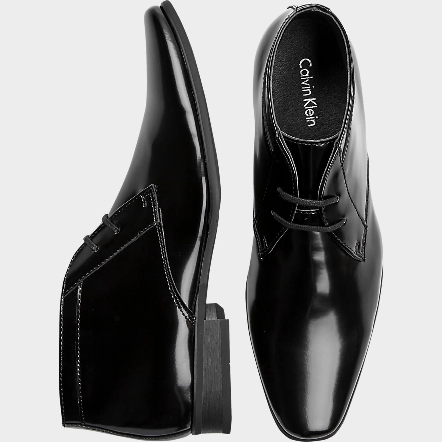 Dobell Mens Red Dress Shoes Patent Contemporary Style Laced