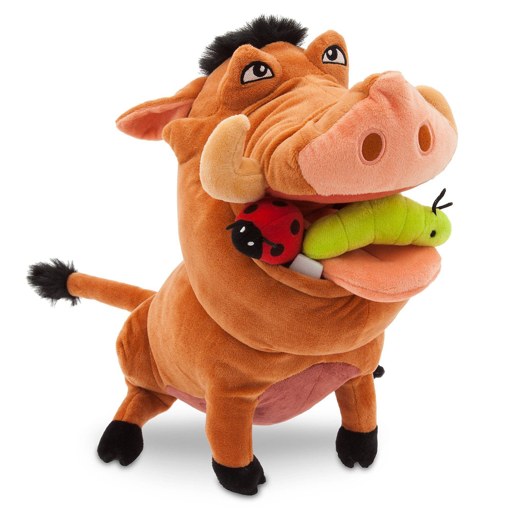 The Disney Store And Parks Mini Bean Bag Plush The Lion King Pumbaa  Warthog 8/""