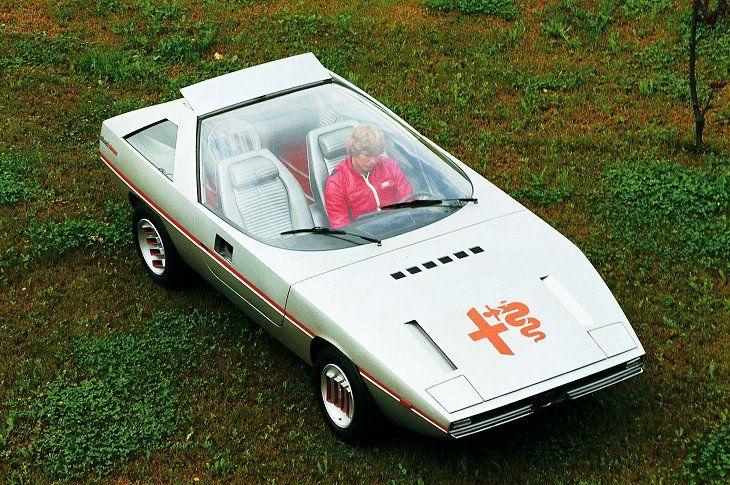 Alfa Romeo Caimano (ItalDesign), 1971