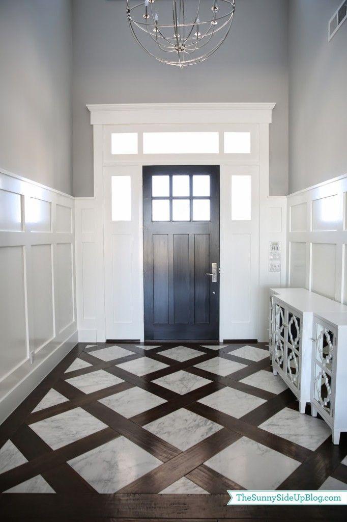 Mixed plank floor chevron google search dream home for Cheap durable flooring ideas