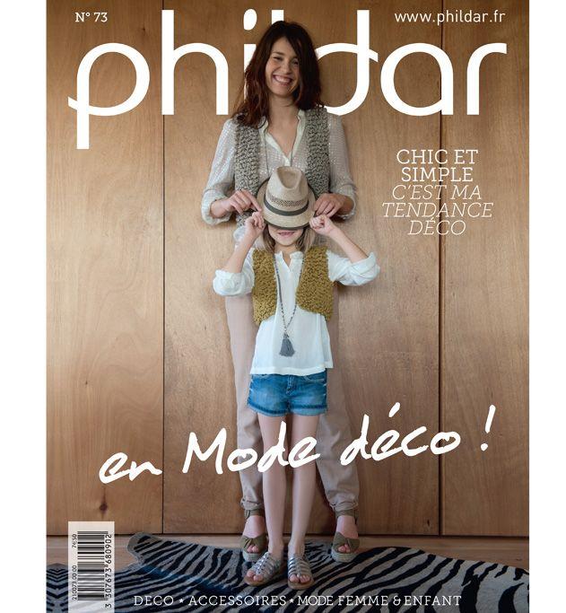 0b0f6413a822 Catalogue mode et déco n°73 - Enfant - Phildar   catalogue tricot ...
