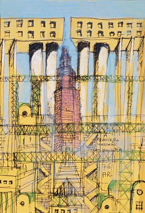 Drawings Aldo Rossi Aldo Rossi Architecture Sketch
