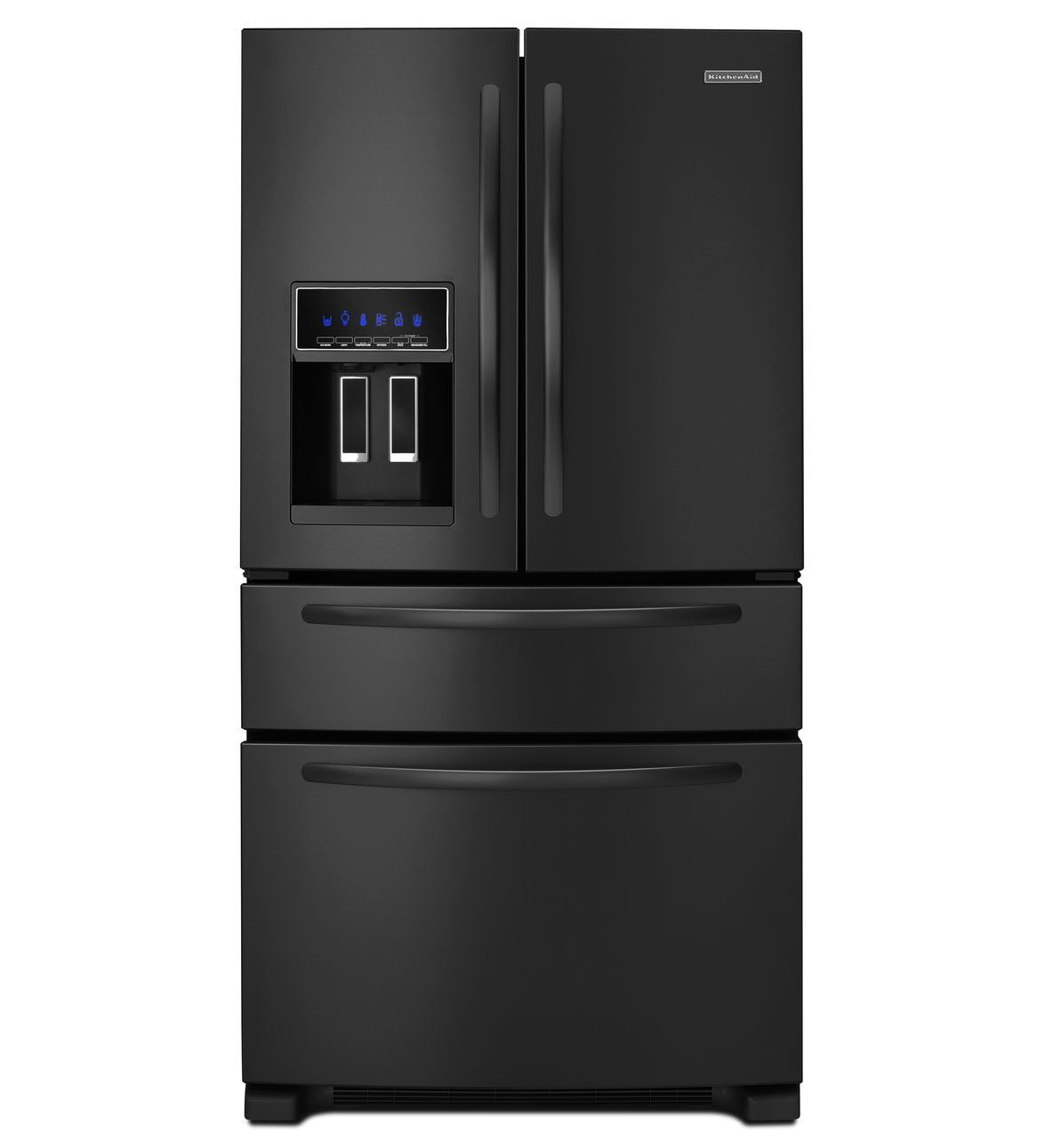 High Quality Learn About Features And Specifications For The KitchenAid 24 Cu.  Standard Depth Four Door French Door Refrigerator, Architect® Series II )