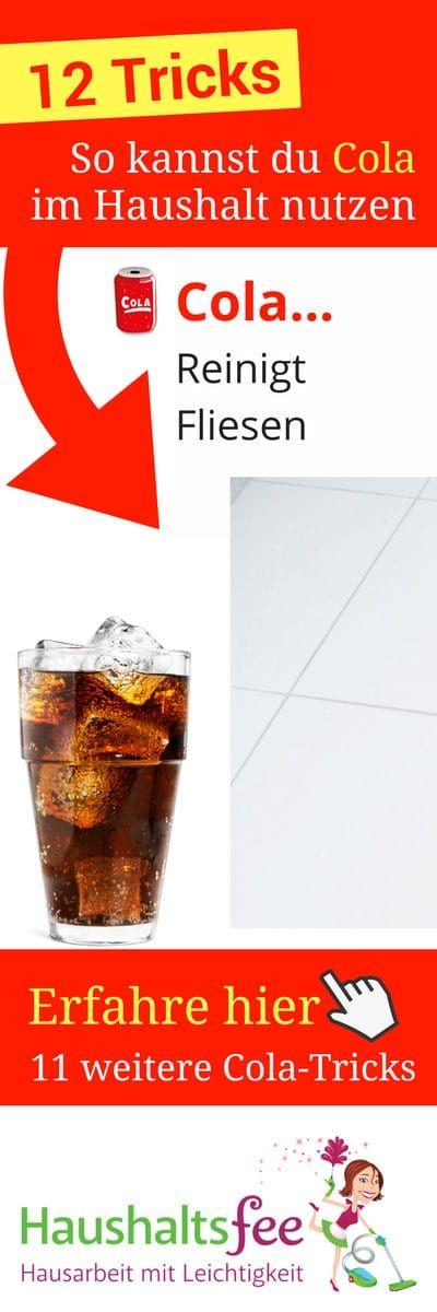 12 Möglichkeiten, Cola im Haushalt zu nutzen (mit Bildern