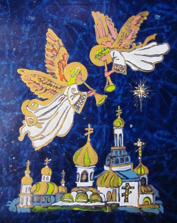 делать, если рождественские ангелы рисунки андорру ноябре