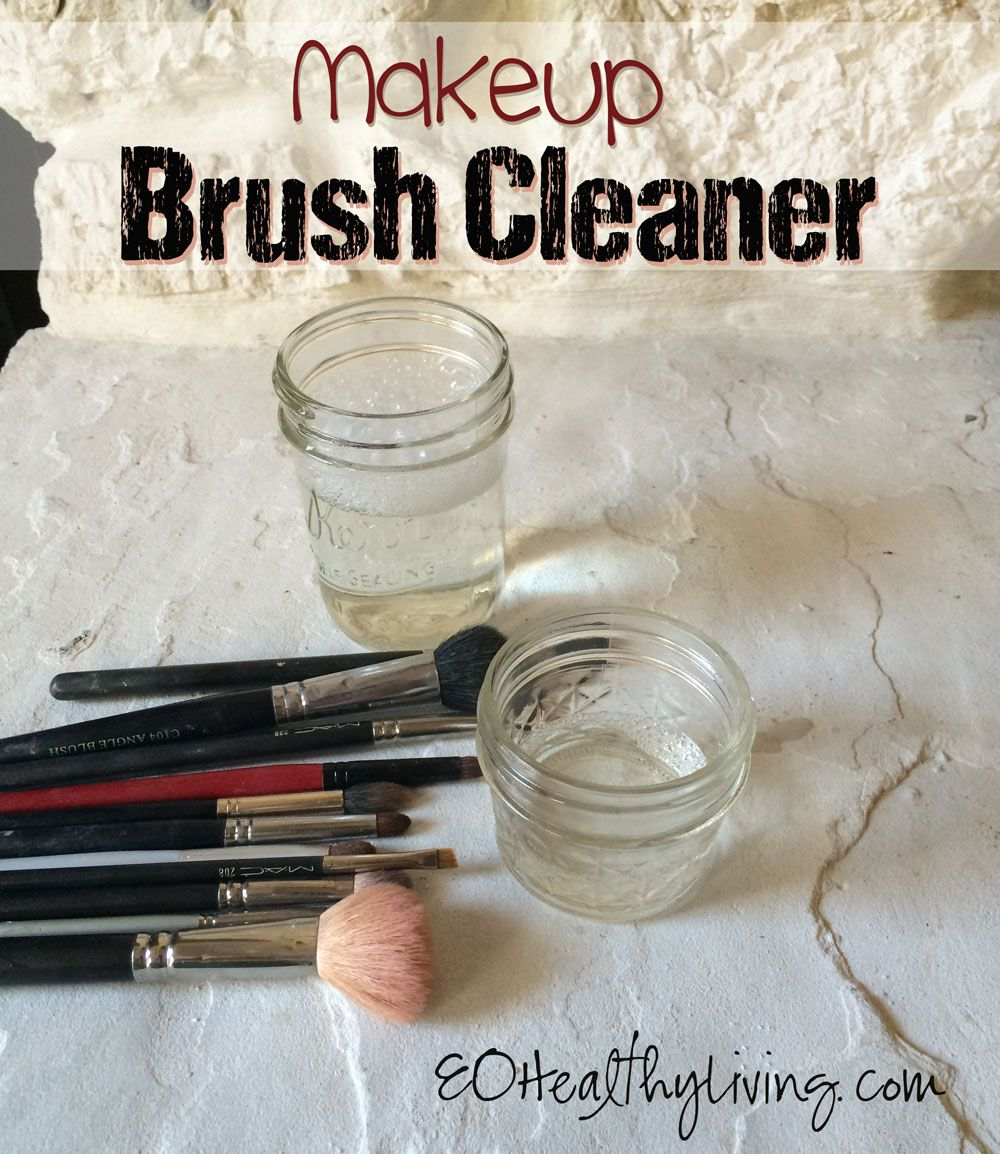 How to clean makeup brushes Savvy Minerals by Young