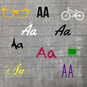 Different Wheelio Fonts