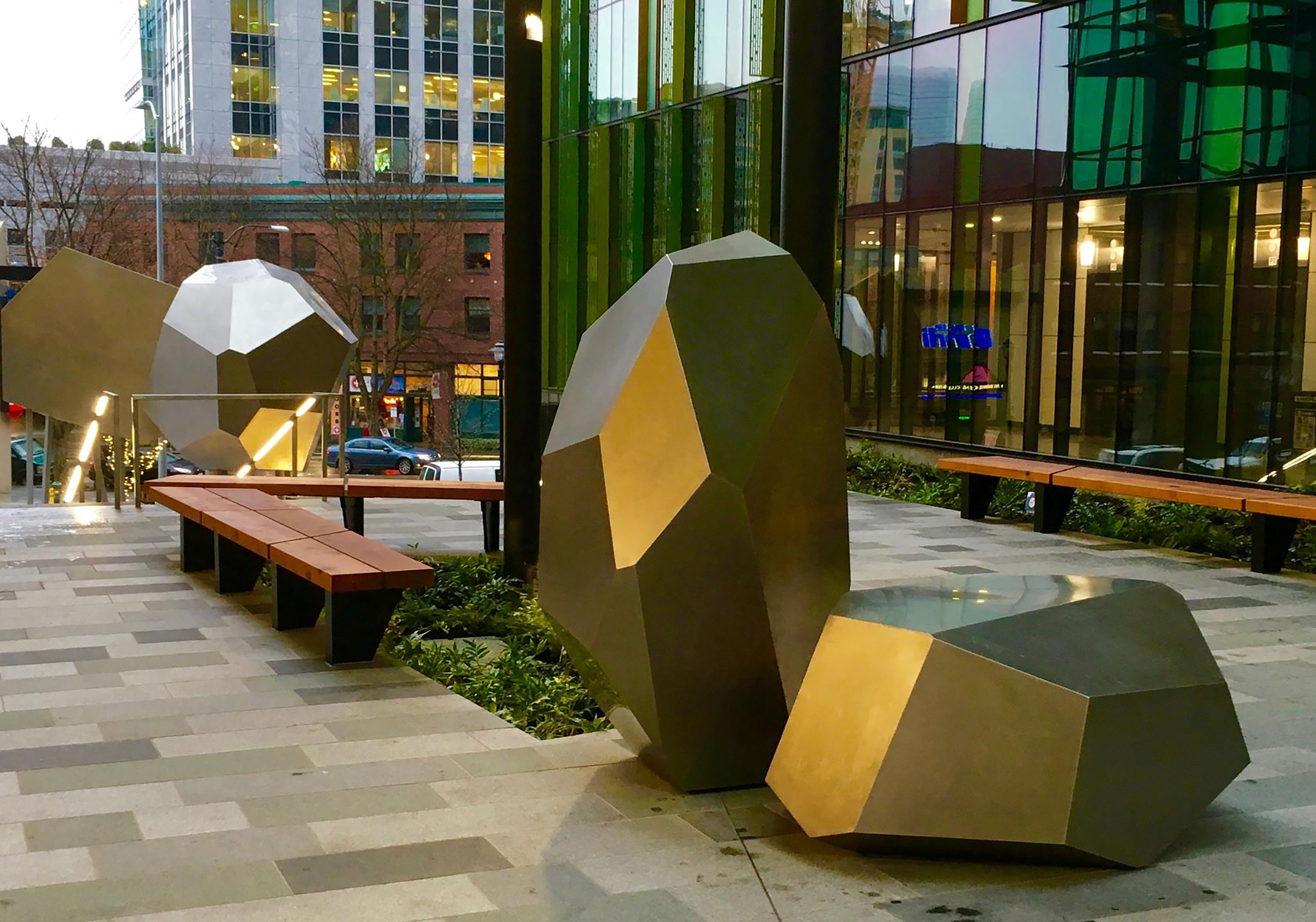Julie Speidel 'petros' Installation Seattle Campus 2015 Collection Of