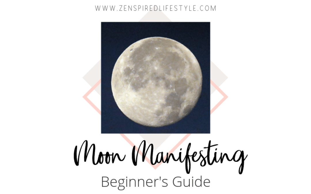 New Moon and Full Moon Manifesting: Moon Rituals and How to Manifest with #newmoonritual
