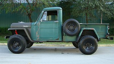 1952 Willys Overland M 37 Green And Black Pompano Beach Fl At Mint